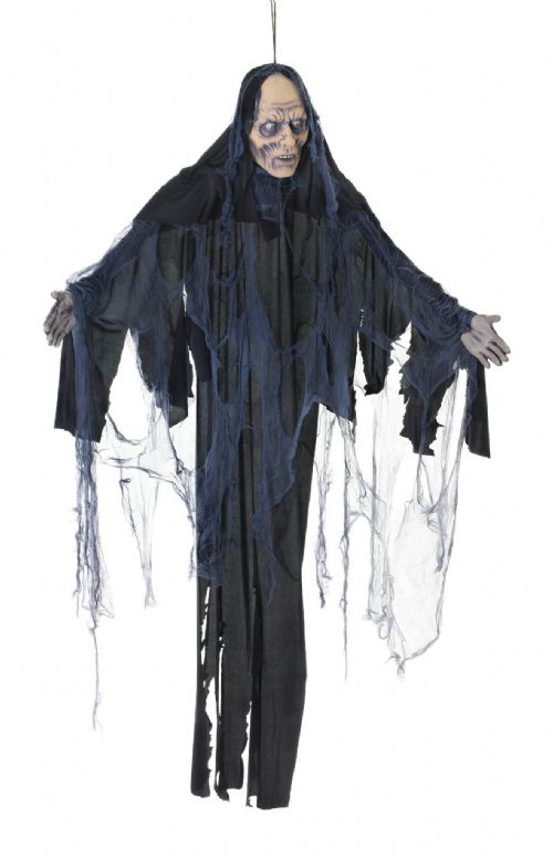 Halloween Female Zombie 6ft Hanging Prop Trick Or Treat Party Decoration